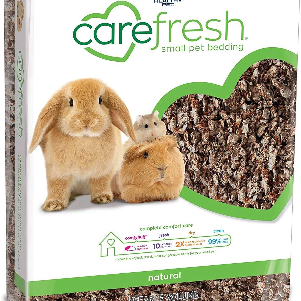 Carefresh Small Pet Bedding - Natural 60ltr