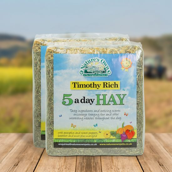 Natures Own 5 A Day Hay 1kg