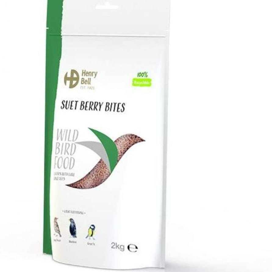 Henry Bell Suet Bites Berry 2Kg