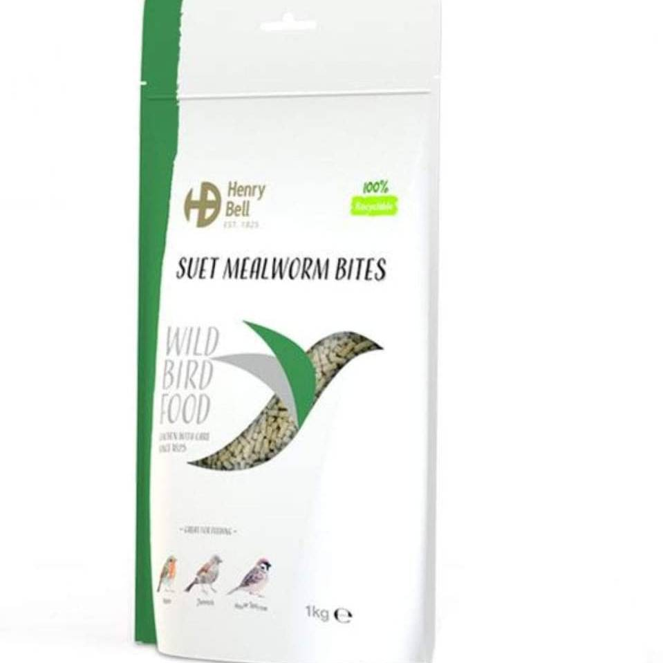 Henry Bell Suet Bites Mealworm 2Kg