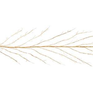 Premier 3m Gold Lit Branch Garland