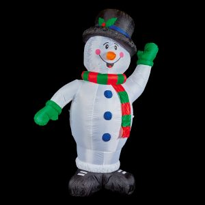 Premier 1.2M Inflatable Snowman