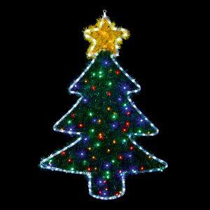 Premier 1m x 70cm Xmas Tree Tinsel Light