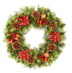 Premier 45cm Plastic Wreath