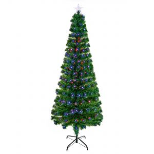 Premier 1.8m Slim Led Star Tree with Star Topper