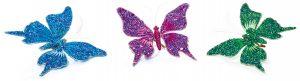 Premier 12cm 3 Asst Sequin Butterfly (One Chosen)