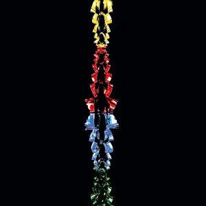 Premier 2.7M x 20cm 6 Section Garland - Multi-Coloured