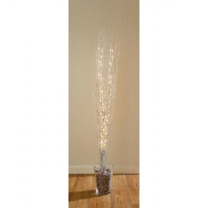 Premier 1.2m Branch with Silver Glitter