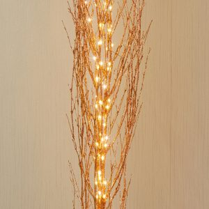 Premier 1.2m Rose Gold Lit Twigs