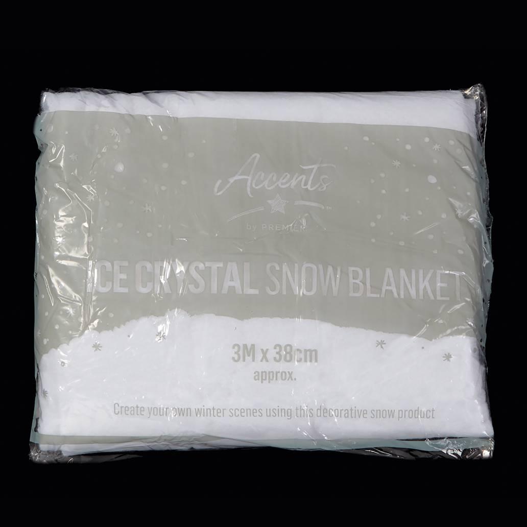 Premier 38cm x 3m Ice Crystal Snow Cover Blanket