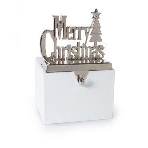 Premier 13.5cm Silver MERRY CHRISTMAS