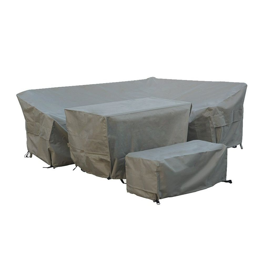 Bramblequest Tetbury L Shaped Sofa Set Cover CVRMS2TX